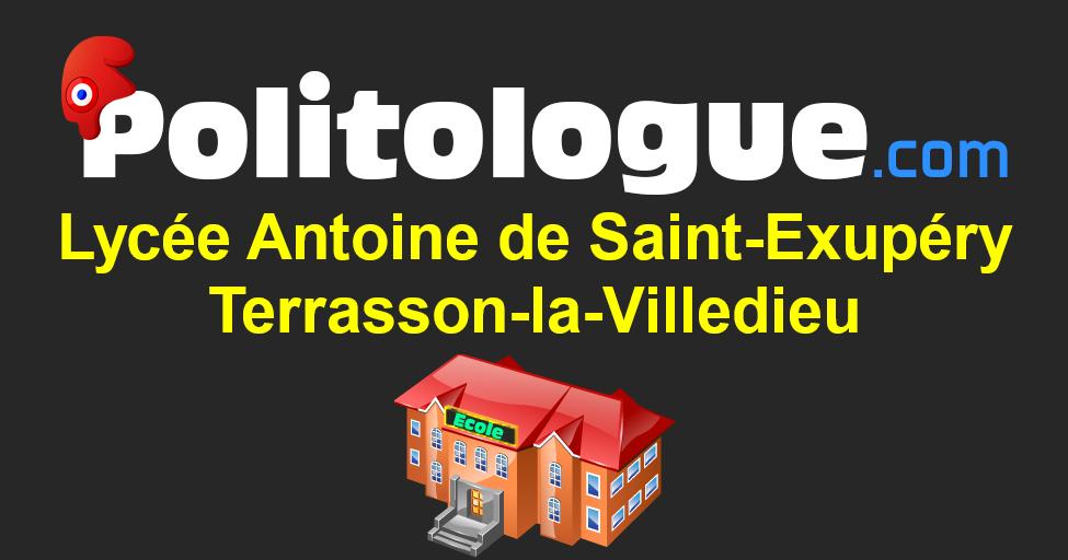 Lycée Antoine De Saint Exupéry à Terrasson La Villedieu