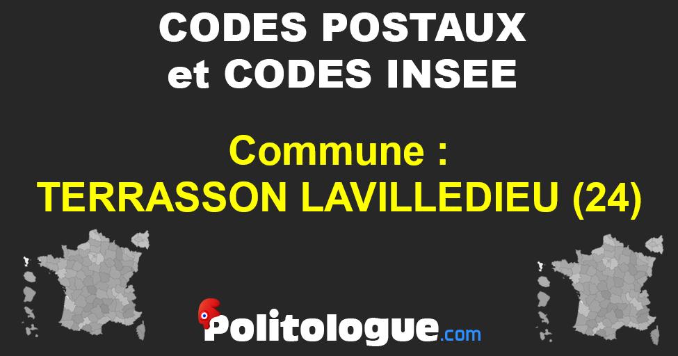 Code Postal Terrasson Lavilledieu